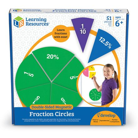 Double-Sided Magnetic Fraction Circles