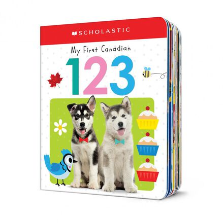 Scholastic Early Learners: My First Canadian 123
