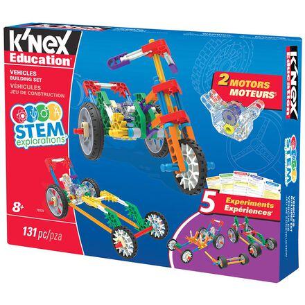 K'Nex® STEM Explorations Vehicles Building Set