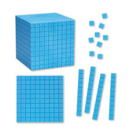 Cubes décimaux magnétiques