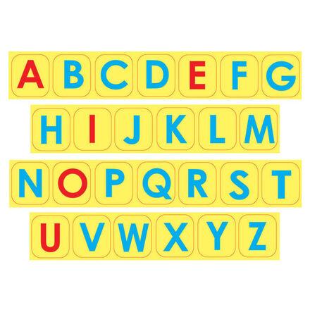 Uppercase Letter Foam Magnets