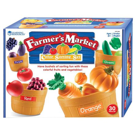 Farmer's Market Colour Sorting Set