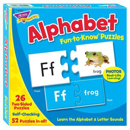 Fun to Know Puzzles: Alphabet
