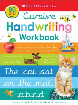 Scholastic Early Learners: Cursive Handwriting Workbook