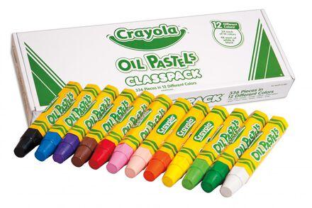 Ensemble de pastels à l'huile crayola®
