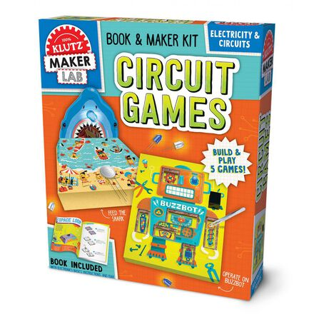 Klutz Maker Lab: Circuit Games