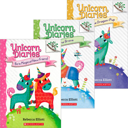 Unicorn Diaries #1-#3 Pack