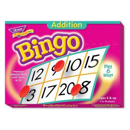 Bingo des additions