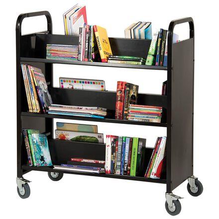 Metal Library Cart