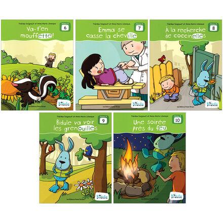 Livrets Bidule : niveau B, livres 6 à 10