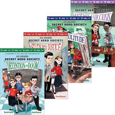 Secret Hero Society #1 - #5 Pack