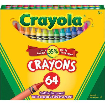 Crayons de cire Crayola® (64)