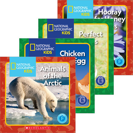 National Geographic Kids: Guided Reader Pack (E-F)