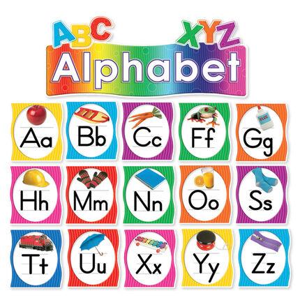 Alphabet Mini Bulletin Board Set