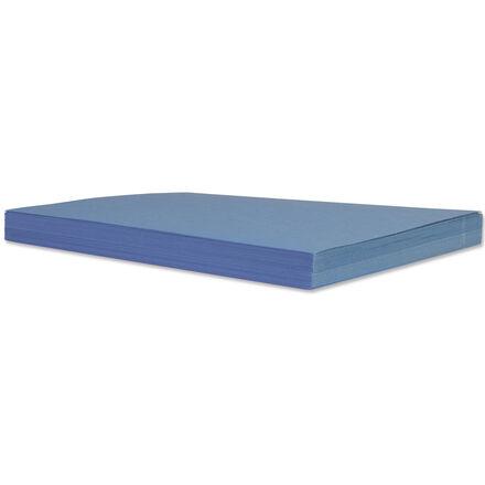 50 feuilles de papier de bricolage : bleues