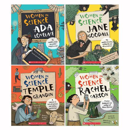 Women in Science 4-Pack