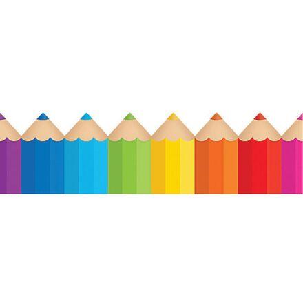 Coloured Pencils Border Trimmer