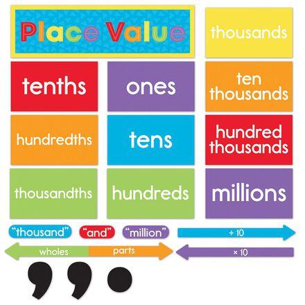 Understanding Place Value Mini Bulletin Board Set