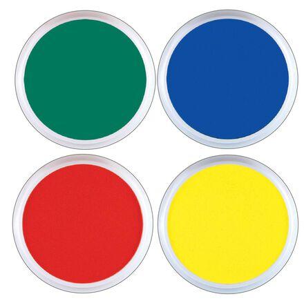 Tampons encreurs géants et lavables : 4 couleurs