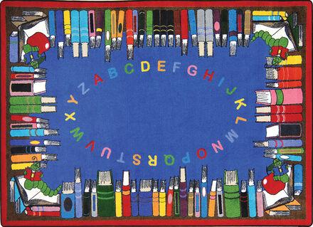 Tapis Alphabet-bibliothèque