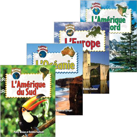 Collection Explorons les continents