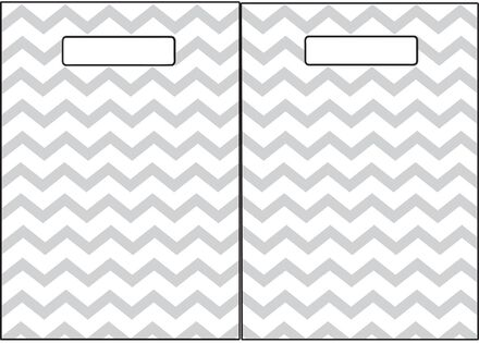Grey Chevron Folding Magnetic Centre