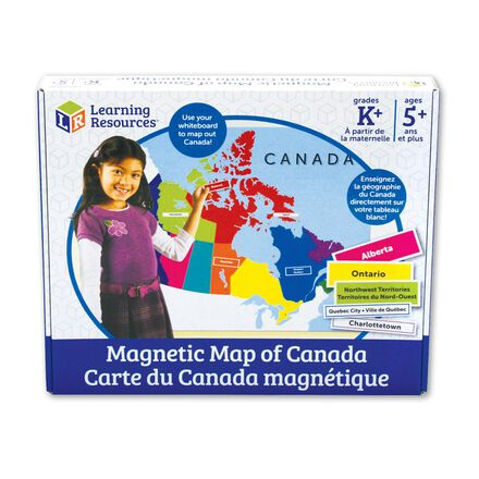 Magnetic Map of Canada