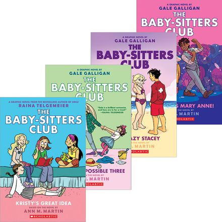 The Baby-Sitters Club Graphix #1 - #8 Pack