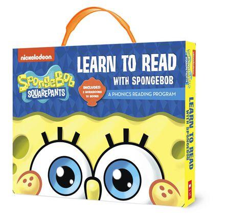 SpongeBob Squarepants: Learn to Read with SpongeBob Phonics Boxed Set