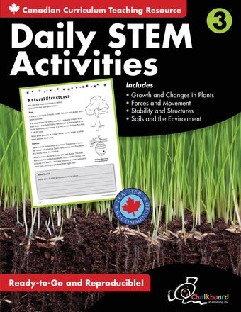 Canadian Daily STEM Activities Grade 3