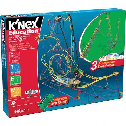K'Nex® STEM Explorations Roller Coaster Building Set