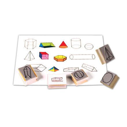 Tampons : formes géométriques tridimensionnelles