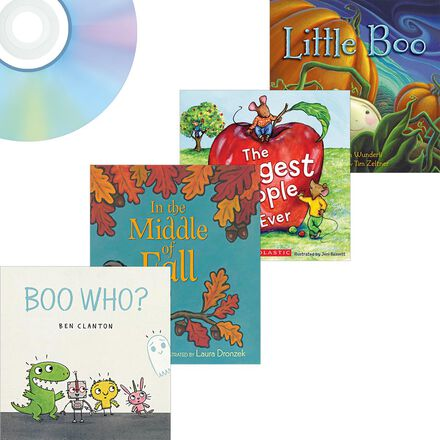 Fall Favourites Book and CD Value Pack