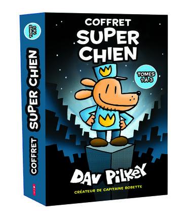 Coffret Super Chien : Tomes 1-2-3