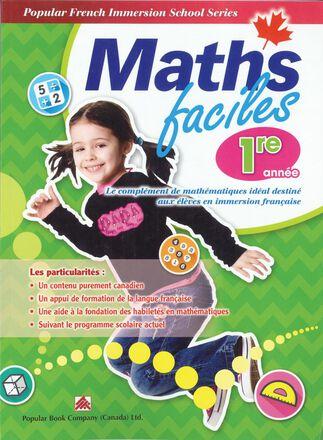 Maths faciles pour l'immersion française - 1re année