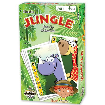 Jeu de bataille Jungle