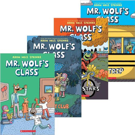 Mr. Wolf's Class Graphic Novels Pack