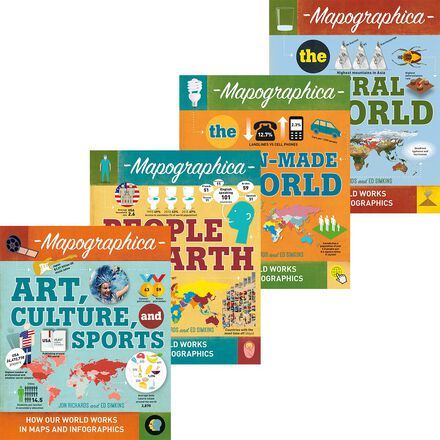 Mapographica 4-Pack