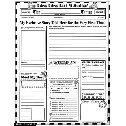 Instant Personal Posters: Extra, Extra Read All About Me!
