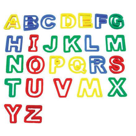Emporte-pièces en alphabet