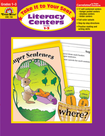 Take It to Your Seat Literacy Centers Grade 1-3