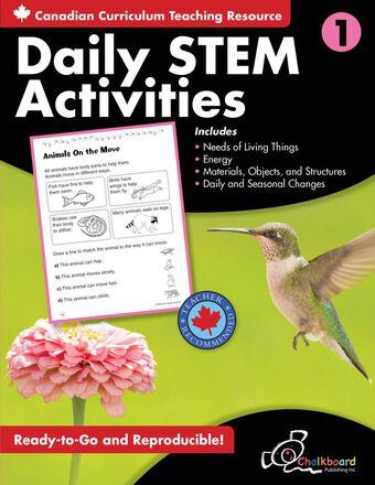 Canadian Daily STEM Activities Grade 1