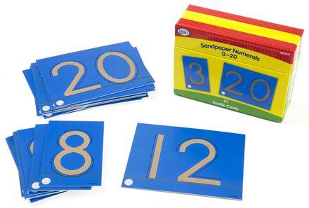 Sandpaper Numerals 0-20
