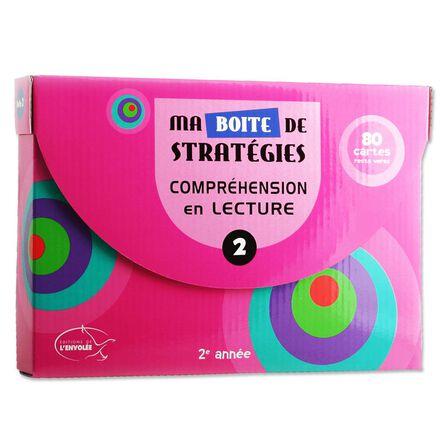 Ma boîte de stratégies : Compréhension en lecture 2