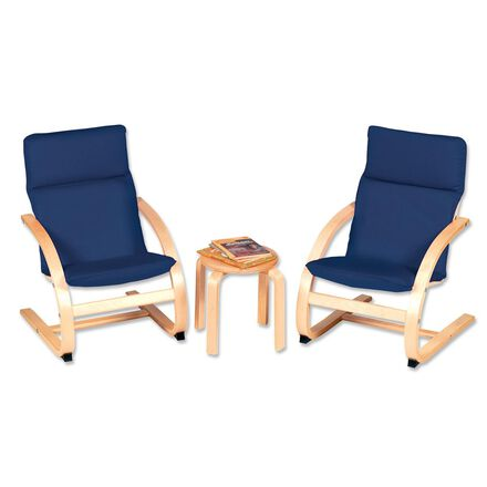 Children's Table and Chair Set Blue