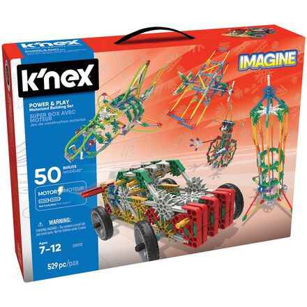 K'Nex® Super box avec moteur - Jeu de construction motorisé