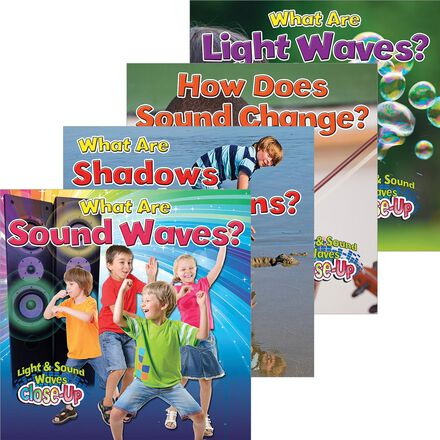 Light & Sound Waves Close-Up 4-Pack