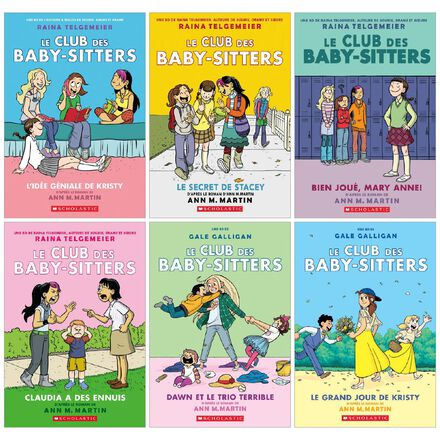 Collection le Club des Baby-Sitters