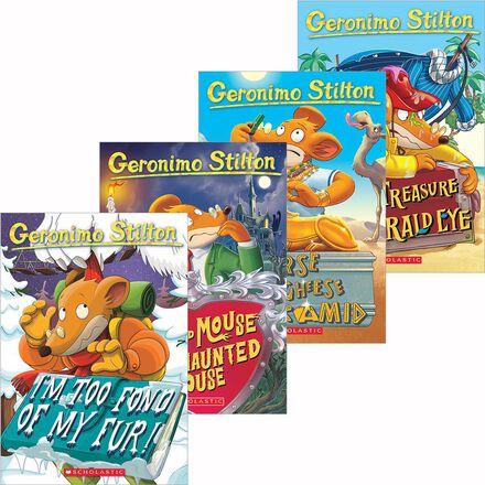 Geronimo Stilton Four-Cheese Boxed Set