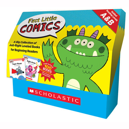 First Little Comics Classroom Set: Levels A & B